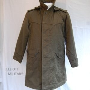 front view of parka