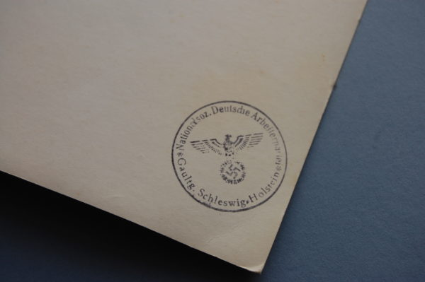 ink stamp on reverse of photo