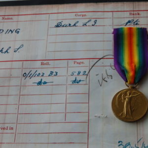 obverse of WW1 Victory medal