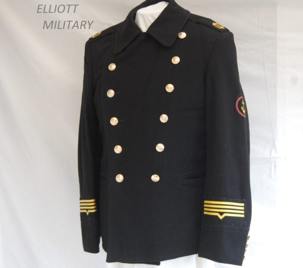 jacket showing insignia