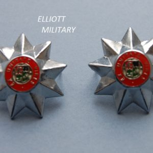 star badge with South African army crest