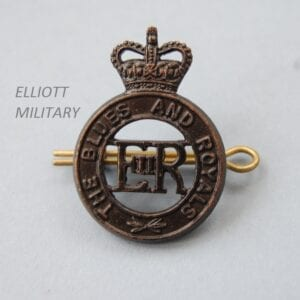 badge with E11R within a circle below a crown