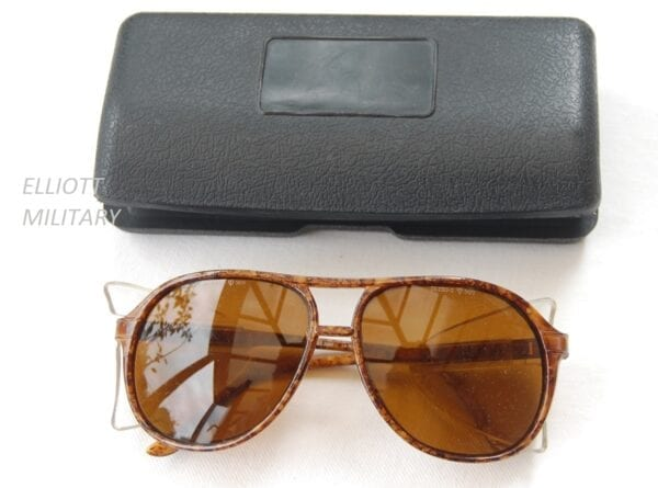 glasses and case