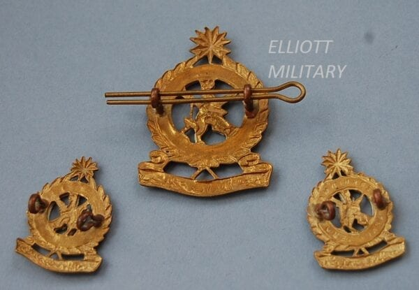 reverse of badges