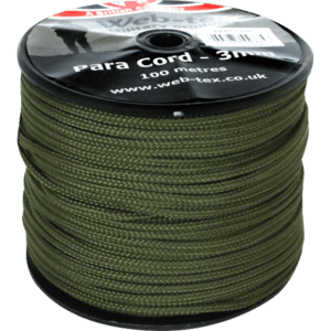 Para cord on a roll in olive