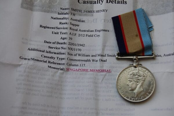 Obverse of medal