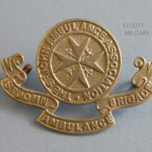 obverse of badge