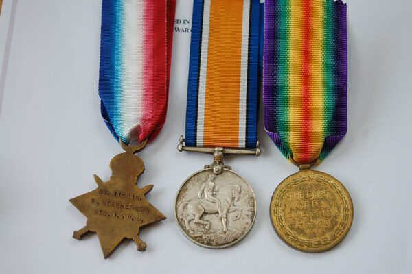REVERSE OF MEDALS