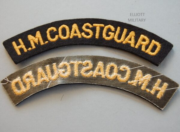 obverse and reverse of badges